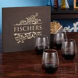 Costner 21 oz. Stemless Wine Glass by Charlton Home