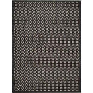 Bexton Black / Beige Indoor/Outdoor Area Rug