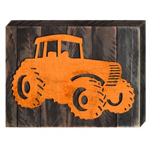 891d1f740043 Made in USA Tractor Vintage Board Wall Décor