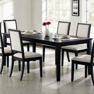 Jaquez Extendable Solid Wood Dining Table by Mercer41 Comparison