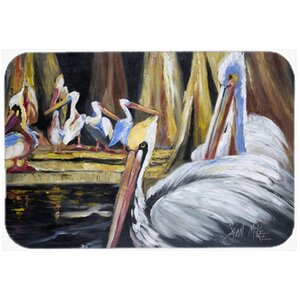 Pelicans Kitchen/Bath Mat