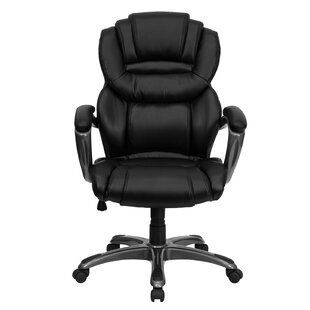 Symple Stuff Wisner High-Back Executive Chair (Set of 2)