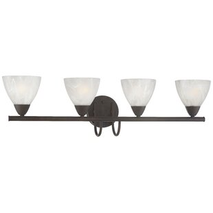 Clearance Sheldrake 4-Light Vanity Light By Andover Mills