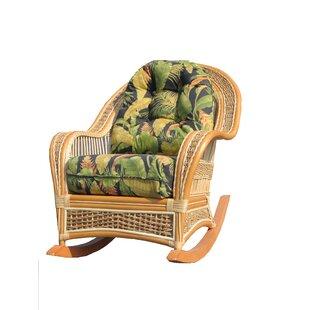 Spice Islands Wicker Rocking Chair