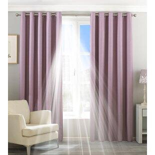 Purple Curtains | Wayfair.co.uk on purple lighting for bedrooms, purple wall decor for bedrooms, purple color for bedrooms, purple furniture for bedrooms, purple paint for bedrooms, purple bedroom themes, purple wallpaper for bedrooms, purple rugs for bedrooms,