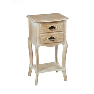 Champetre 2 Drawer Bedside Table By Lily Manor