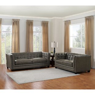 17 Stories Dierking 2 Piece Living Room Set