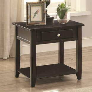 Red Barrel Studio Donner End Table with Storage