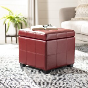 William Tufted Storage Ottoman by Safavieh