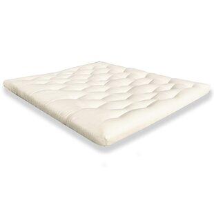 chemical free wool mattress topper chemical free futons   wayfair  rh   wayfair