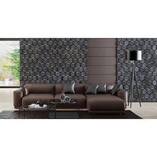 Alisson Leather Sectional by Brayden Studio Spacial Price