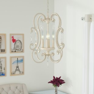 House of Hampton Oriana 4-Light Lantern Pendant