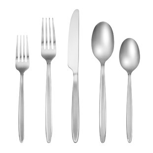 Albina 60 Piece Flatware Set, Service for 12