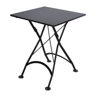 European Caf? Folding Metal Bistro Table by Furniture Designhouse