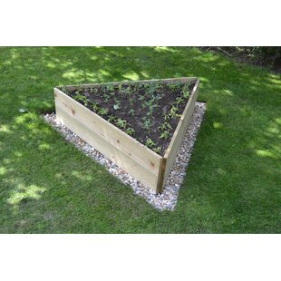 Hiro Wooden Raised Flower Bed By Freeport Park