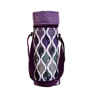 Insulated Waves Wine Tote