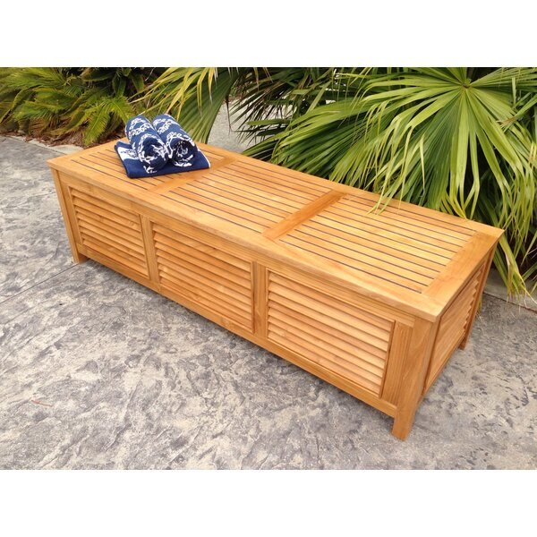 Teak Deck Box | Wayfair