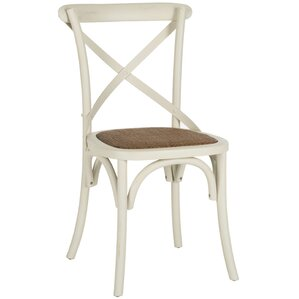 Essie Cross Back Side Chair (Set of 2) by August Grove