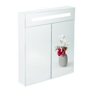 60 X 67cm Mirrored Cabinet By Symple Stuff