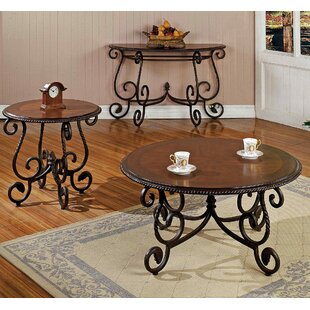 Glen 3 Piece Coffee Table Set