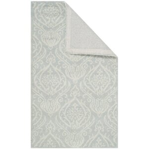 Mcguire Silver/Ivory Area Rug