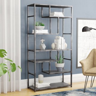 Annabelle Geometric Bookcase by Modern Rustic Interiors SKU:BE126442 Shop