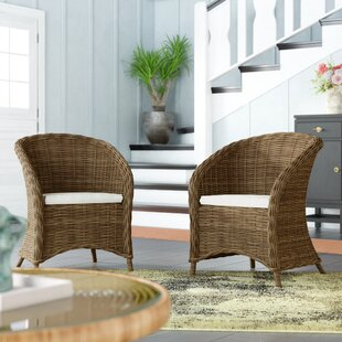 Reddick Barrel Chair (Set of 2) by Rosecliff Heights