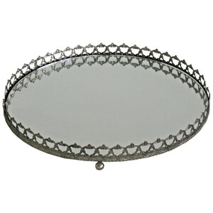 Charlotte Circular Mirror Tray