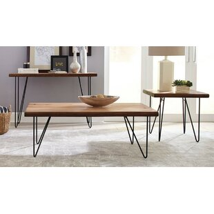 Carver 3 Piece Coffee Table Set