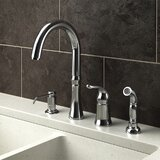 Delta 4 Hole Kitchen Faucet Wayfair
