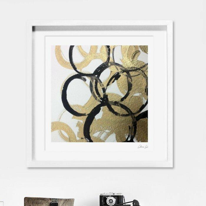 Wade Logan Burana Framed Graphic Art On Canvas Wayfair