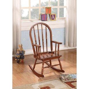 Leadwood Rocking Chair by Harriet Bee