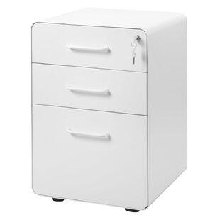 Reynoso 3 Drawers Vertical Filling Cabinet By Ebern Designs