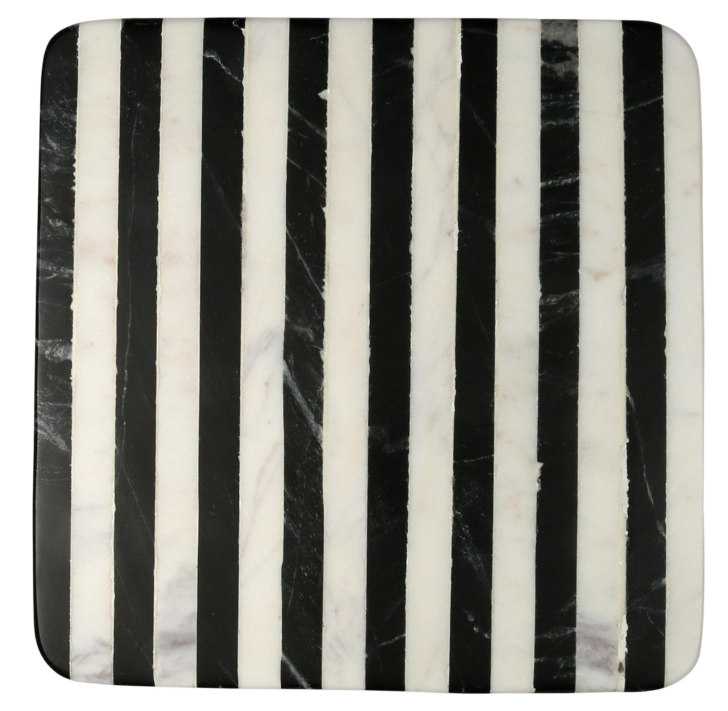 Mercer41 Providence Striped Marble Trivet Reviews Wayfair