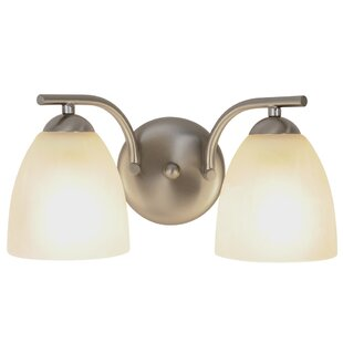 Incandescent 2-Light Vanity Light by Monument