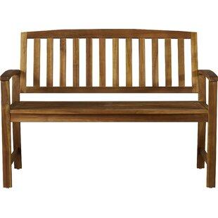 Leora Acacia Wood Garden Bench