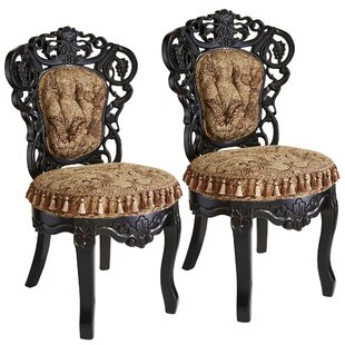 Design Toscano Victorian Parlor Side Chair (Set of 2)