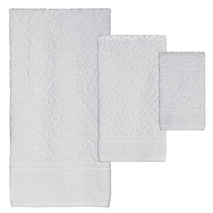 Desi Jacquard 6 Piece 100% Cotton Towel Set