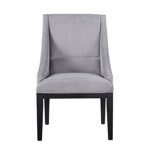 Otega Wing Upholstered Dining Chair (Set of 2) by Wrought Studio