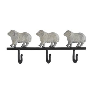 Vernon Metal Wall Mounted Coat Rack (Set Of 2) By Brambly Cottage