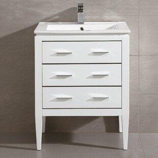 Groovy Wrought Studio Bourdeau 24 Single Bathroom Vanity Set P8P Dailytribune Chair Design For Home Dailytribuneorg