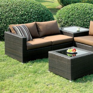Corbett Patio Sectional with Cushions