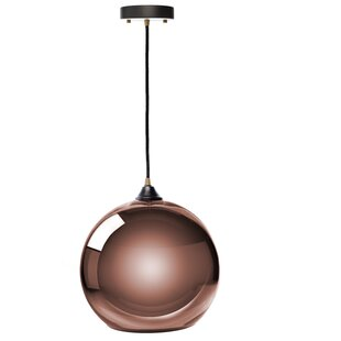 Ebern Designs Copeland Sphere 1-Light Pendant