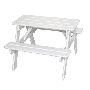White Kidsu0027 Table U0026 Chair Sets Youu0027ll Love | Wayfair