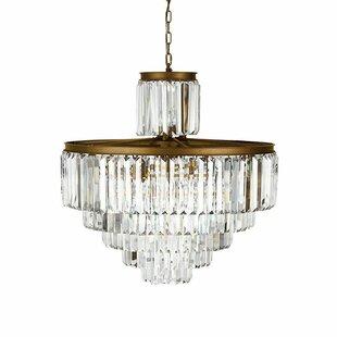 Rosdorf Park Keanu 29-Light Crystal Chandelier