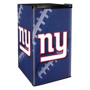 NFL 3.2 cu. ft. Compact Refrigerator with Freezer