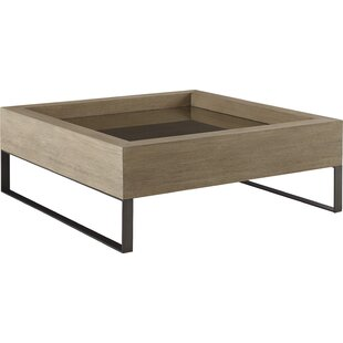 Mcguire Coffee Table with Tray Top