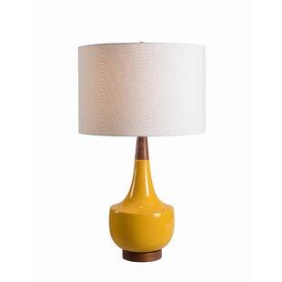 Modern contemporary table lamps allmodern wathen 26 table lamp aloadofball Image collections