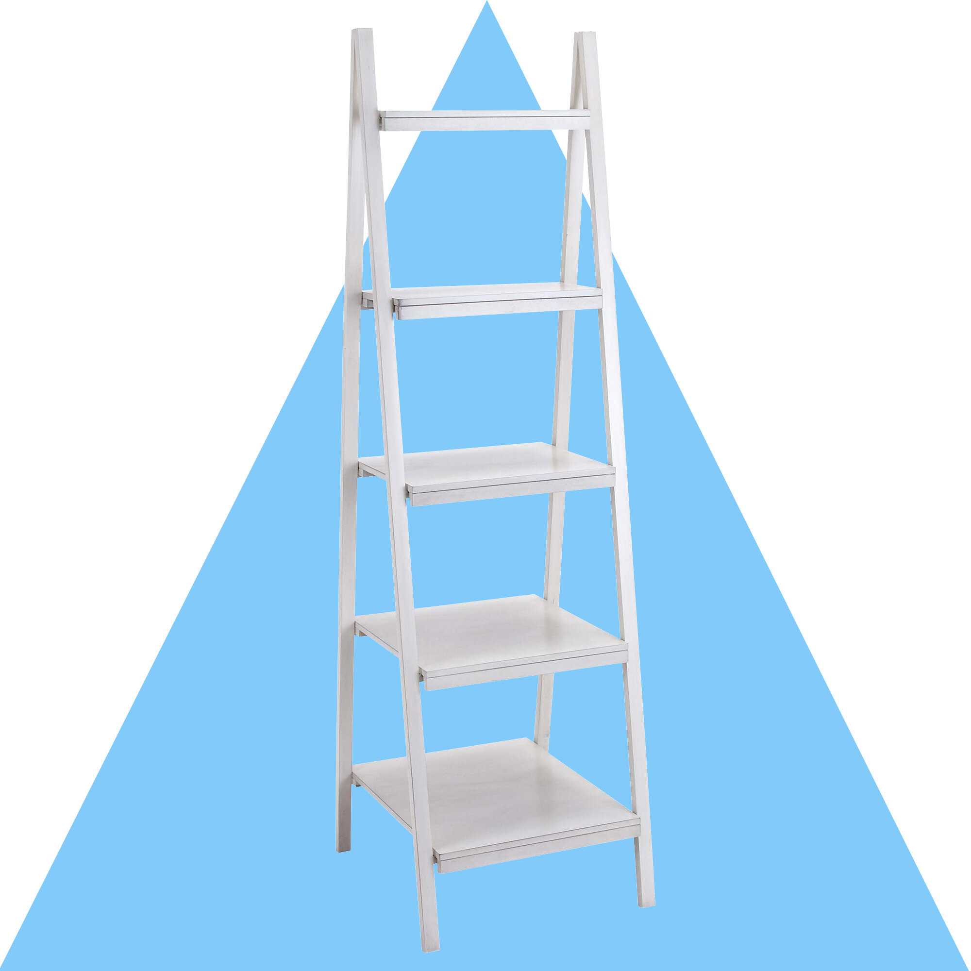 Hashtag Home Connor Ladder Bookcase