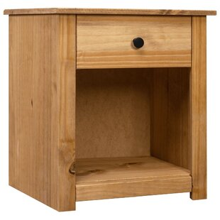 Mattson 1 Drawer Bedside Table By August Grove